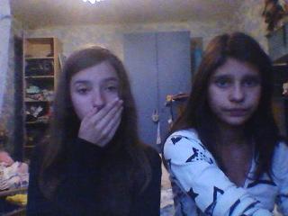 Любаша и я :D
