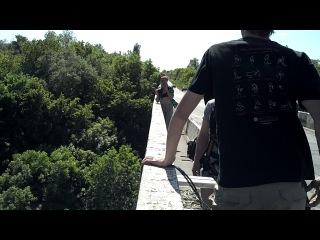 Прыжок с мота Первомайск,высота 35 м