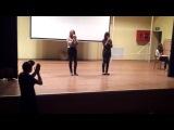 Аня и Женя(Доол Солнечный 2012, 3 смена, Минута славы, 1 тур)