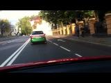 катим на сьемки Renault Clio Sport Ange et Demon, Renault Clio Sport