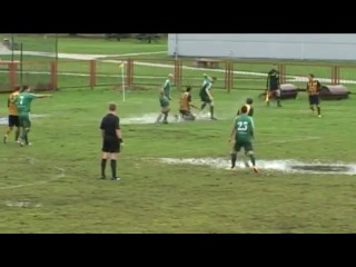 Pelkių šokiai futbolo aikštėje (смешной футболъ)