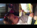 Яся читает книжку