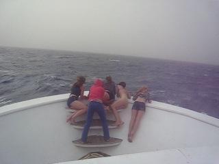 Качка на корабле