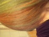 Новый цвет челки!!! Юху)))))
