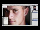 Photoshop / Фотошоп / Как убрать синяки и мешки под глазами