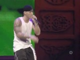 Eminem mocking bird!He was crying at the beginning of this song!