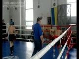 Эмин Бабаев.Финал. Лоу-кик обласной Чемпионат!