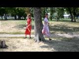 Арина и Алёна (с катанами)
