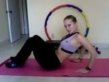 Плоский живот - силовая планка. Упражнения для похудения живота (на пресс)