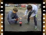 Ментос + Кока кола