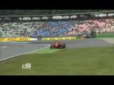 GP3 2012 Germany Quali Suranovich flying