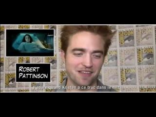 Старое/новое Интервью Роба на Comic Con International 2012 (Роб говорит о своей любимой сцене)