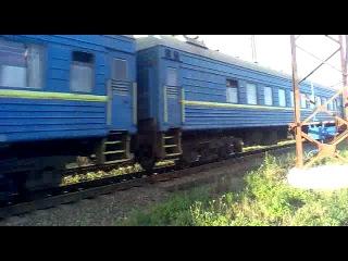 ЧС4 КВР - 102 поездом Киев - Симферополь