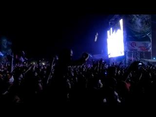 Rammstein Du Hast Рок над Волгой 2013 Отрывок
