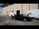 Supercharged Dodge Charger 1968 1500 HP Burnout