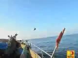 Рыбаки засняли как НАСА пытались сбить НЛО!