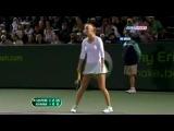 Теннисистка Виктория Азаренко матерится: