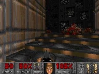 Ultimate Doom E1M3 secret exit