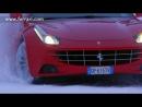 La Ferrari FF sfida i ghiacci svedesi