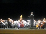 Лидия Блейдорп (виолончель) в Эрмитажном театре