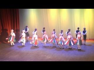 Юбилей школы Танец( Летка-Енька)