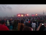 Начало выступления группы Rammstein (Рок над волгой 2013)
