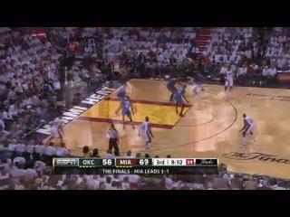 НБА ФИНАЛ 2012 последняя игра  Майами - Оклахома
