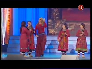 Варвара и Бурановские бабушки А не пойду замуж я на концерте посвященному Дню Судебного пристава 2012