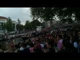 Gay Pride Boat Parade in Amsterdam