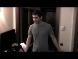 Making the video- Dan Balan и Вера Брежнева - Лепестками Слез (part 1)