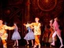 Сегодня мы танцевали с труппой Корона Русского Балета. Спектакль Золушка. Танец Апельсины