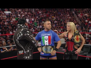 (WWEWM) Cyber Sunday 2008 - Santino Marella (c) vs. The Honky Tonk Man (Intercontinental Championship)