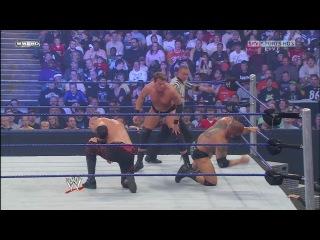 WWE Unforgiven 2008 World Heavyweight Championship Scramble match: Batista vs. Kane vs. Rey Mysterio vs. JBL vs. ??? HD