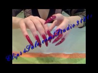 Long sharp nails