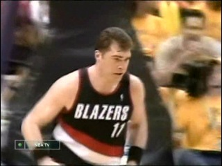 NВА Playoffs 2000 / Western Conf. Finals, Game 7 / Portland Trail Blazers @ L.A. Lakers / НТВ
