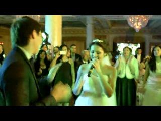 супер!) девушка поет на своей свадьбе! так романтично)