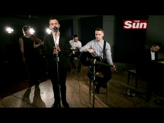 Hurts - Wonderwall (Oasis cover) at the Biz Session