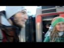 питерский вампир Сергей и брат Бородоча с Дредлоками прощание