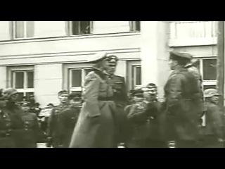 22/09/1939. Брест. Совместный парад войск Вермахта и Красной армии