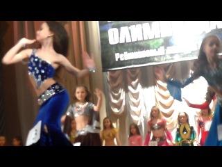 Выступление моей племянницы в ЕКБ олимпиада восточных танцев живота