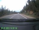 Авария на дороге на участке Зеленоборск -Кандалакша (мурманская область) (Смотреть со 2 минуты)