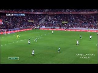 24.11.2013. Ла Лига. 14 тур. Севилья - Бетис 4:0
