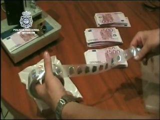 Задержание фальшивомонетчиков [8'000'000 €]
