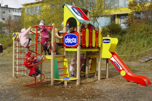 изготовление детских игровых площадок