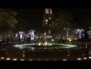 фонтан Золотой дождь в Дубай Марине (ОАЭ)