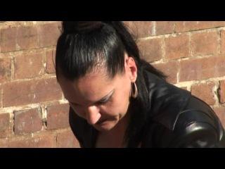 Видео госпожи киры!! herrin silvia ''hellbent for leather'' / одержимость кожей