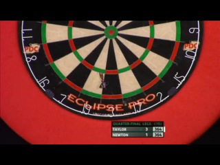 Phil Taylor vs Wes Newton (PDC Coral Masters 2013 / Quarter Final)