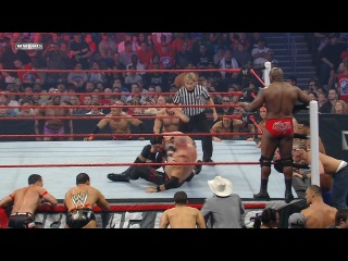 (WWEWM) Extreme Rules 2011 - Big Show & Kane (c) vs. The Corre (Lumberjack Match for the WWE Tag Team Championship)