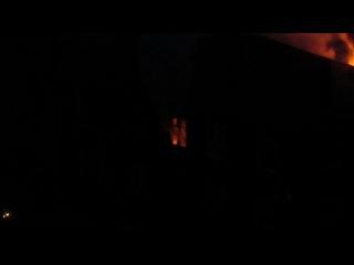 вчерашний пожар на пер.днепровский 25