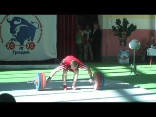 Чемпионат РБ.Андрей Рыбаков 1 подход.рывок.170 кг